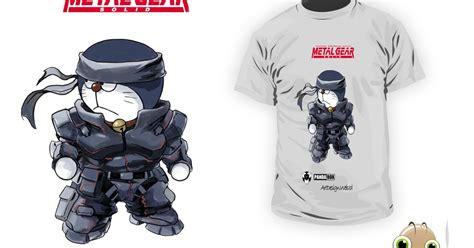 Baju Kaos T Shirt Anime Kartun Note 03 ready kaos t shirt anime doraemon metal gear kode dr