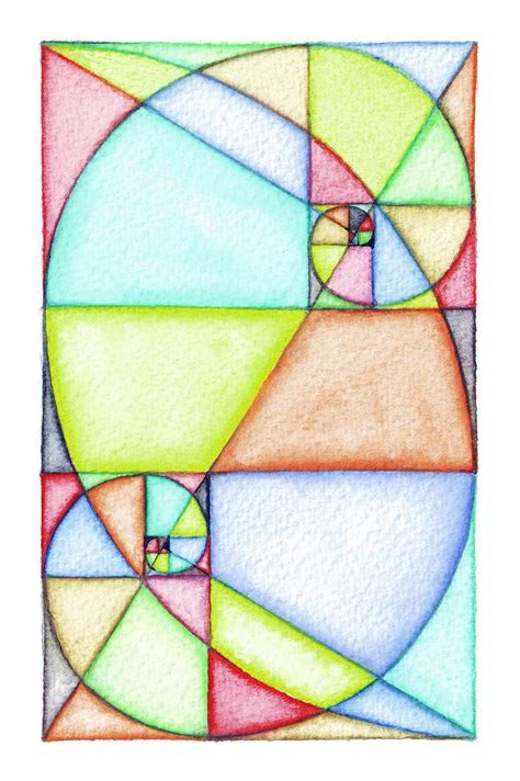 painting math 72 best images about fibonacci ideas on