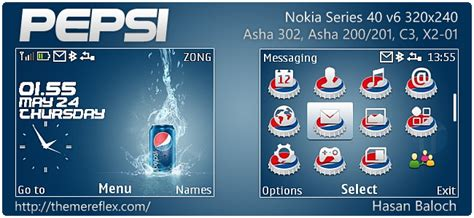 romantic themes for nokia asha 302 pepsi theme for nokia asha 302 c3 00 x2 01 320 215 240