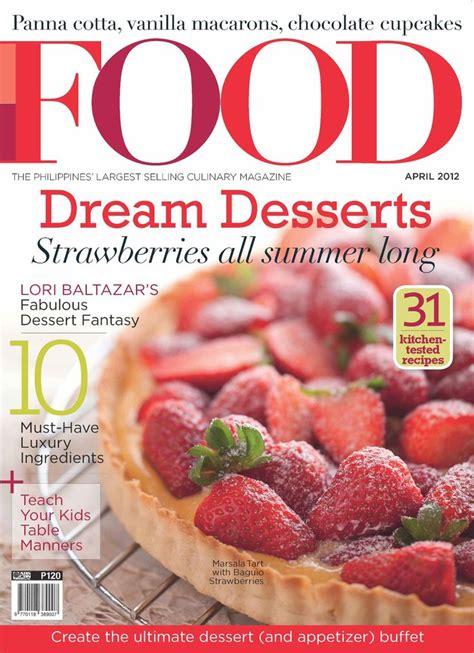 Design My Kitchen App by Food Magazine Cover Dream Desserts Magazines