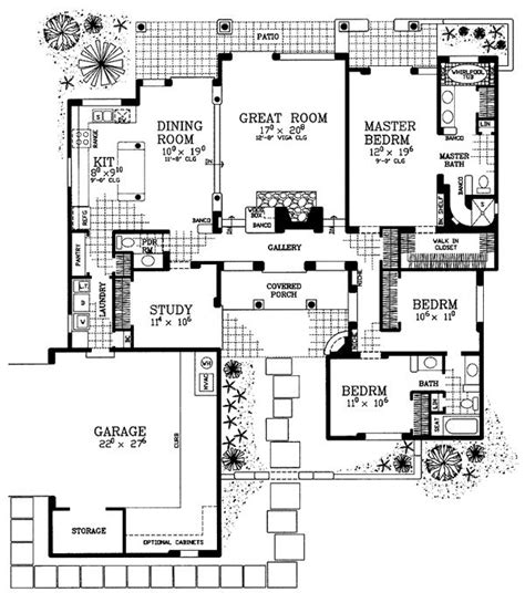 southwestern floor plans 17 images about sw house plan on pinterest house plans