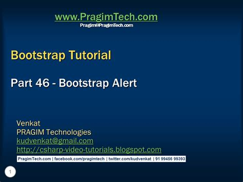 bootstrap notify tutorial sql server net and c video tutorial bootstrap alert