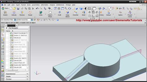 youtube tutorial nx siemens nx training tutorial ug nx cad tutorial how to