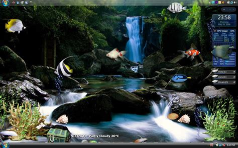 wallpaper keren 3d bergerak pc wallpaper animasi 3d aquarium bergerak images