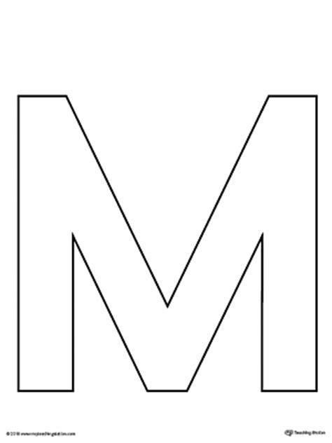 letter m pattern maze worksheet myteachingstation com