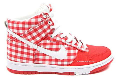 Nike Gingham Dunks From Outfitters by Tablecloth Kicks Nike Dunk High Jam Jar Sneakers