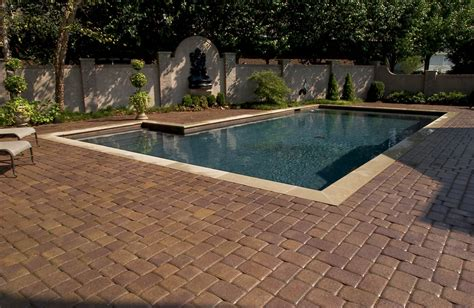 pool pavers ideas pool deck gallery