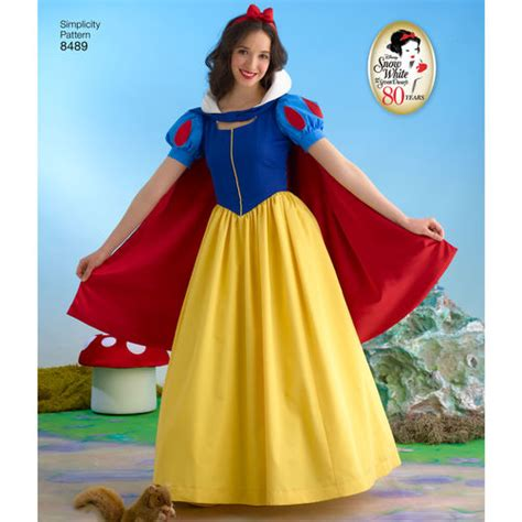 pattern for snow white dress simplicity pattern 8489 misses snow white costume