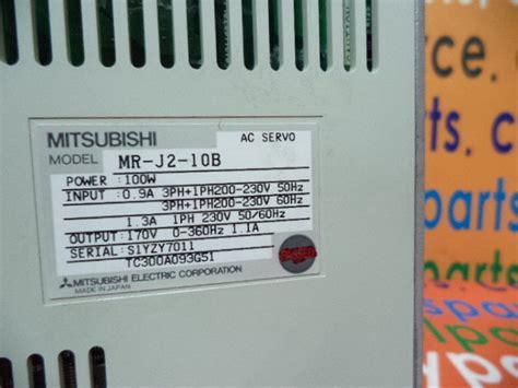 mitsubishi servo controller taiwan servo controller mitsubishi mr j2 10b find