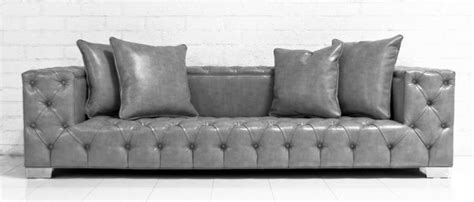 fat boy couch www roomservicestore com tufted fat boy sofa in grey
