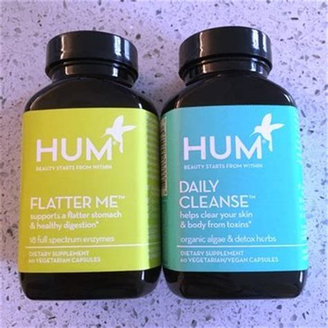 Hum Detox Pills by Hum Nutrition Daily Cleanse Tm 60 Capsules Reviews Find