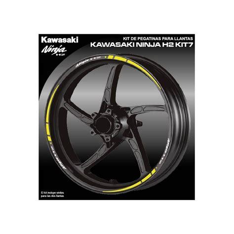 vinilos kawasaki vinilo perfil llanta kawasaki ninja h2 kit7 vinyls