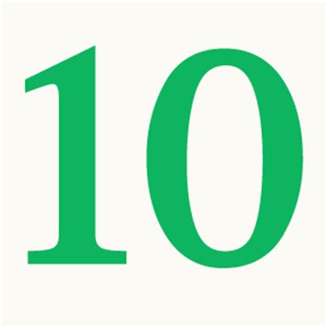 number 10 icons no attribution #20708 free icons and png