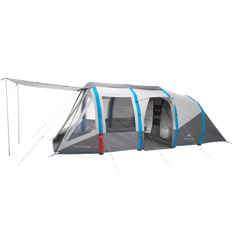 tende quechua decathlon air seconds family tent 6 3xl 6 grey quechua