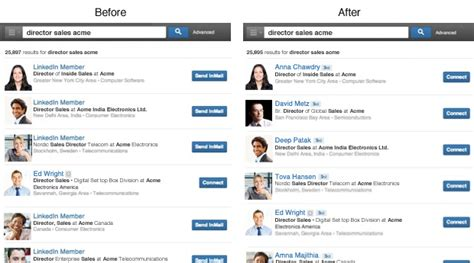 How To Search For On Linked In How The New Linkedin Search Helps You Find Quicker Smlondon