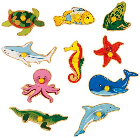 Baby Shower Creative Gifts by Buy Kinder Creative 10 Water Animals With Knobs Online In
