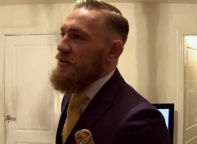 conor mcgregor haircut name which fighter rocks a suit best page 7 sherdog mixed