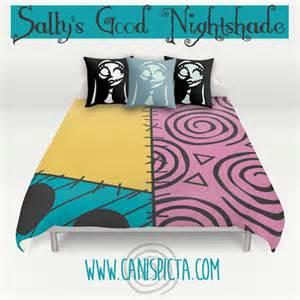 nightmare before bedding duvet sally skellington bed