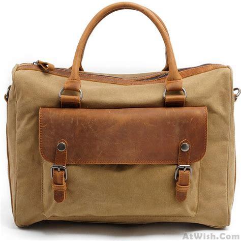 Fashionable Leather Retro Splicing Black - retro thick canvas splicing leather zipper handbag square