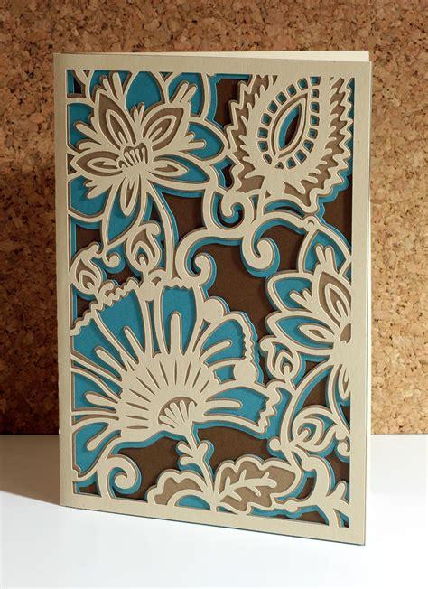 cards cricut the paper boutique griffin s botanical card