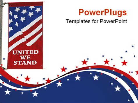 america powerpoint template best photos of american flag powerpoint template