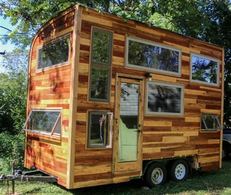 tiny house music studio traveling musician builds music studio tiny house