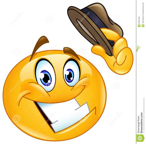 Smile Hat tip of the hat clipart clipart suggest