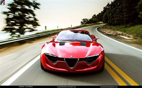 alfa romeo concept alfa romeo 6c concept the italian musclecar autoevolution