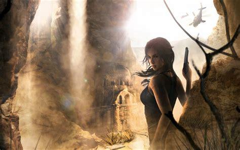 wallpaper lara croft tomb raider  games