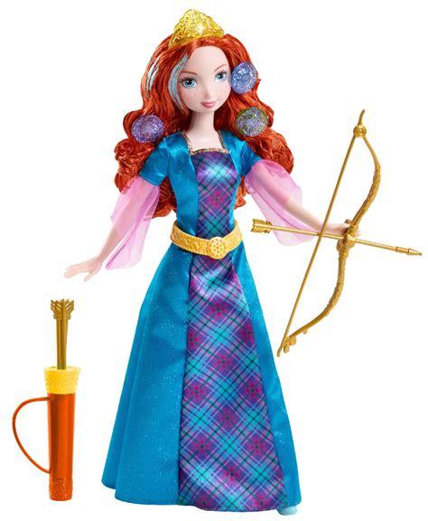 disney brave colorful curls merida doll