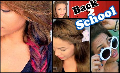andreaschoice back to school hairstyles 6 easy back to school hairstyles andreaschoice youtube