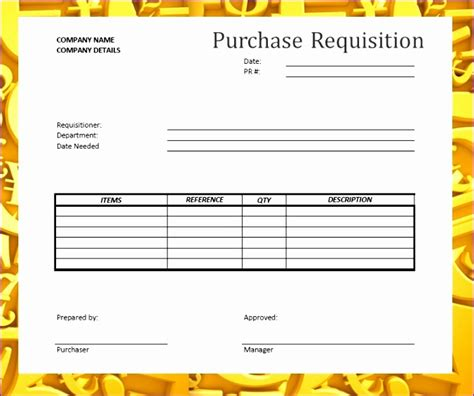 excel purchase requisition template 12 purchase requisition template excel exceltemplates