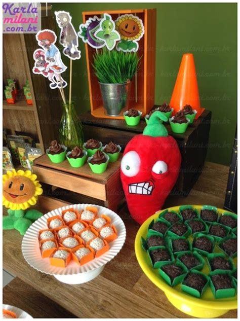 zombie themed birthday party plants vs zombies themed birthday party via kara s party