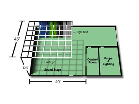 video lighting layout denver film and video stage now available