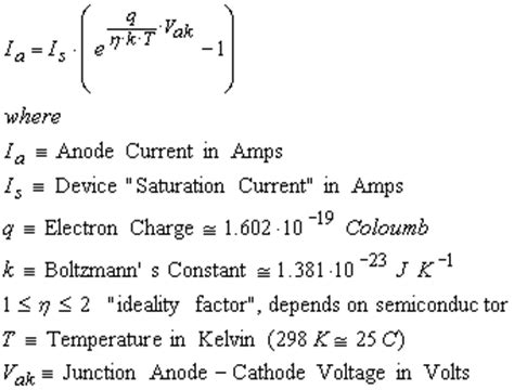 what is the diode current equation diode equation images frompo 1