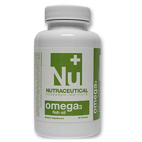 Suplemen Neutracetical Nutraceutical Research Institute Omega 3 Fish 1000
