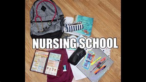 Nursing School Necessities - nursing school supplies 1st semester nursing student