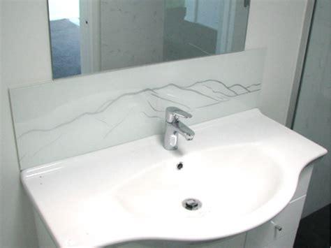 bathroom splashback glass glass splashbacks for vanity units the glass room