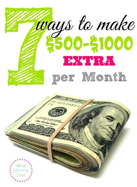 looking for ways to make money from home here are 7
