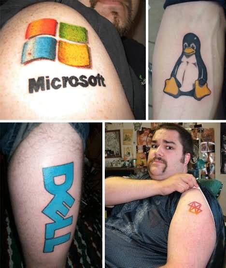 tattoo my photo pc 25 computer geek tattoos