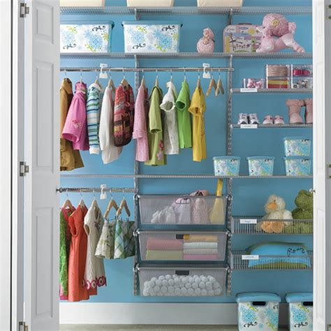 Different features for easy storing baby clothes