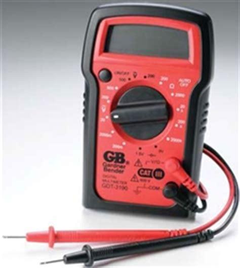 Gardner Bender Gdt 3190 Digital Multimeters Ac Voltage Dc