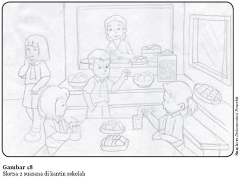 berkarya batik gambar ilustrasi dan boneka belajar serbaneka