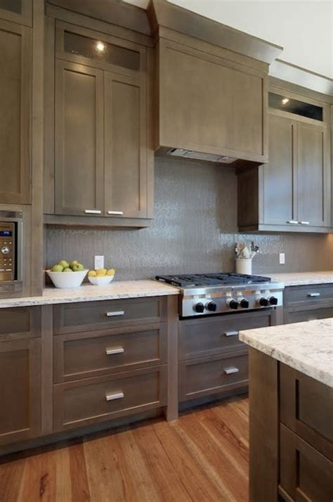 kitchens with grey cabinets taupe kitchen cabinets design ideas