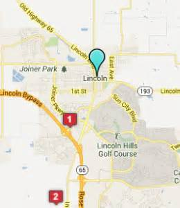 map of lincoln california lincoln ca hotels motels see all discounts