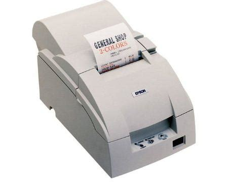 Printer Epson Tm U220b Usb Autocut Printer Kasir epson tm u220b receipt printer white m188b