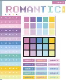 color cheme romantic color schemes color combinations color palettes for print cmyk and web rgb html