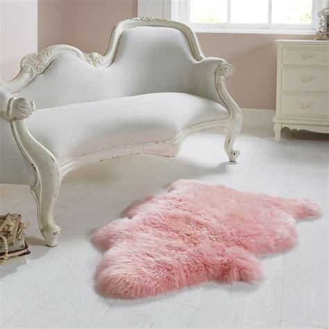 sheepskin rug bedroom single light pink sheepskin rug amazon co uk kitchen