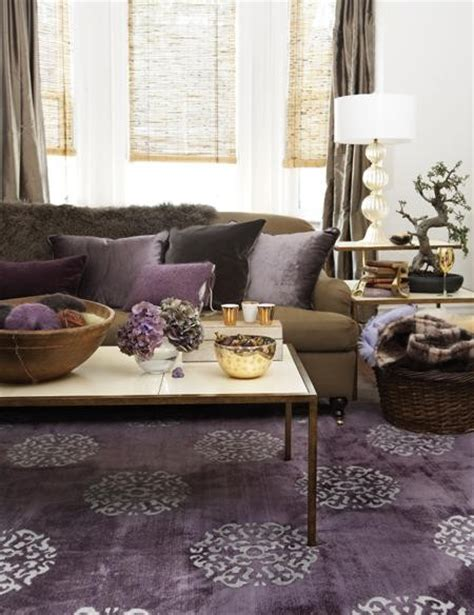 plum and grey living room lovely color crush plum