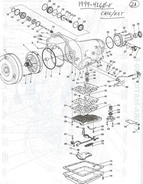 94 chevy truck transmission diagram 35 wiring diagram